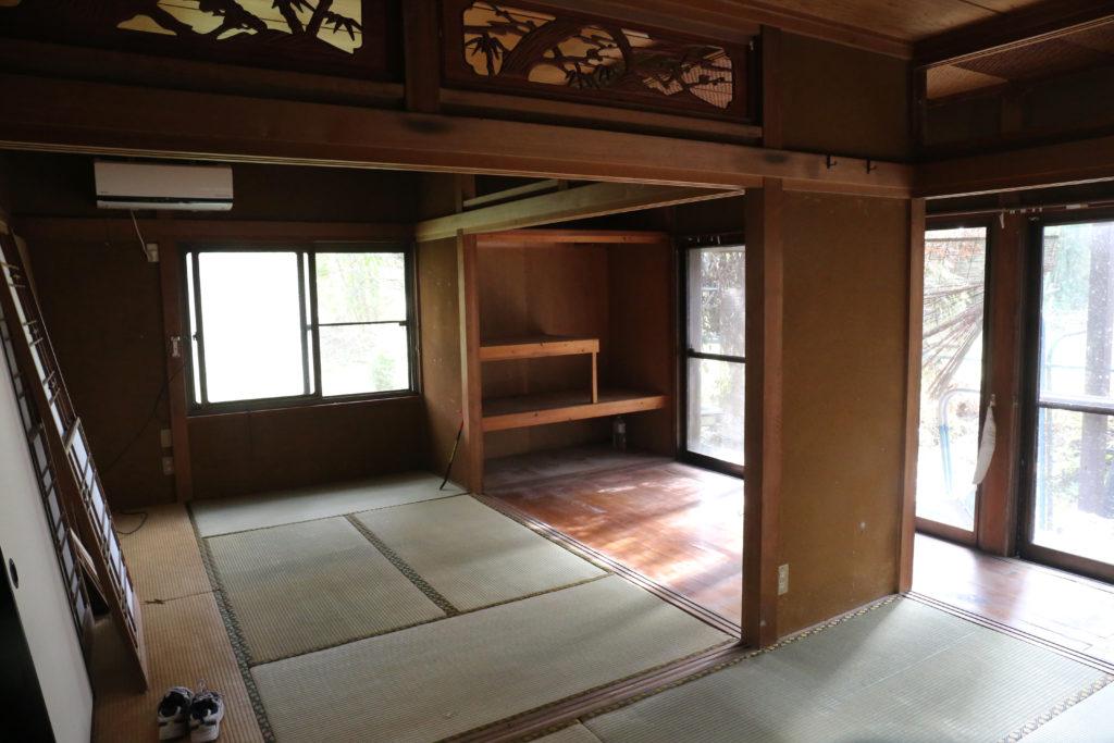 この空き家をDIY初心者の自分がDIYでリノベーションします。