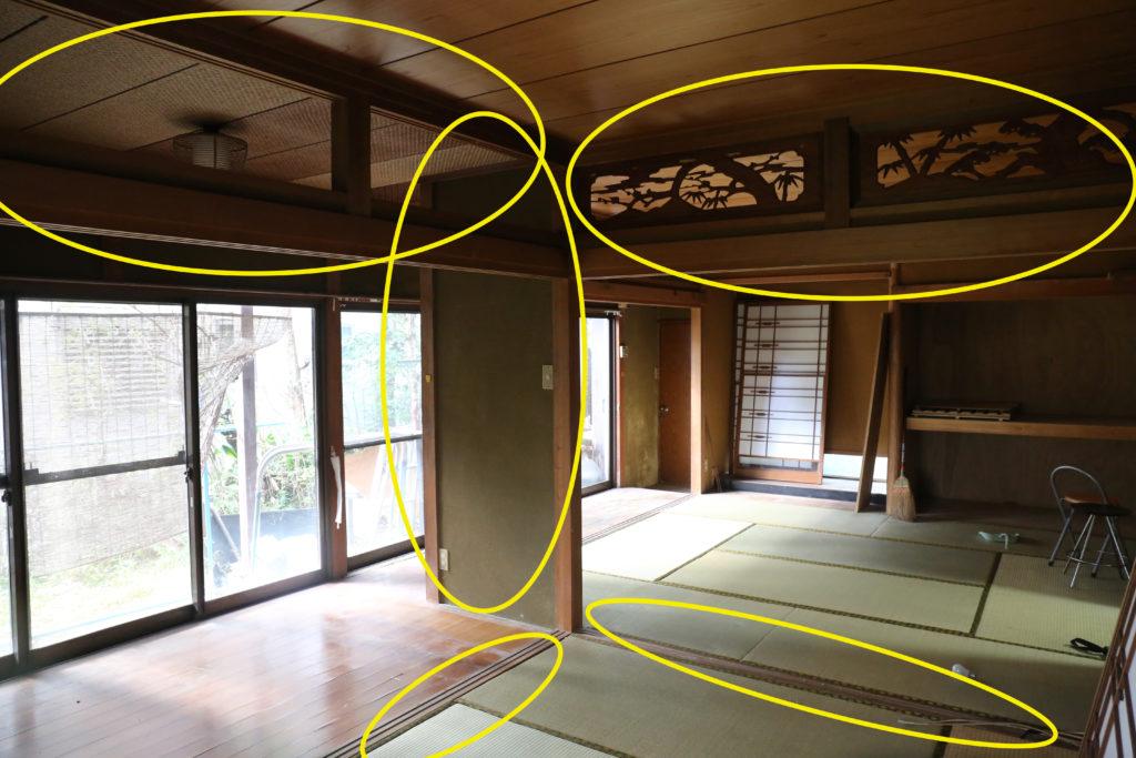 DIYで和室をリフォームして、モダンな空間に作り変えます。