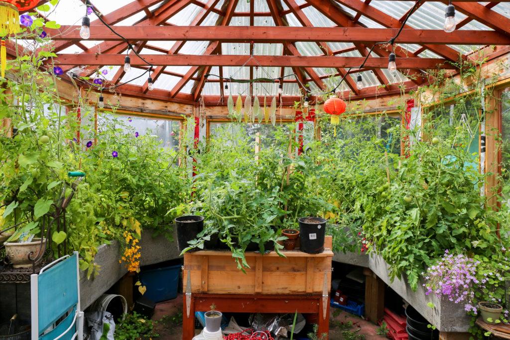 海外の家の温室が立派