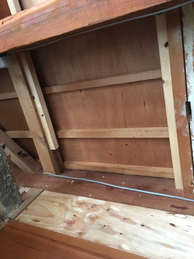 和室に天井下地を作る方法を解説します。