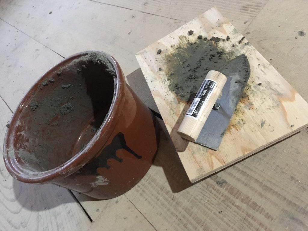 【大失敗】撤去した長押の裏をモルタルで補修してみた結果