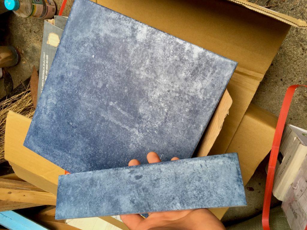 【DIY】薪ストーブ用のタイルを準備する