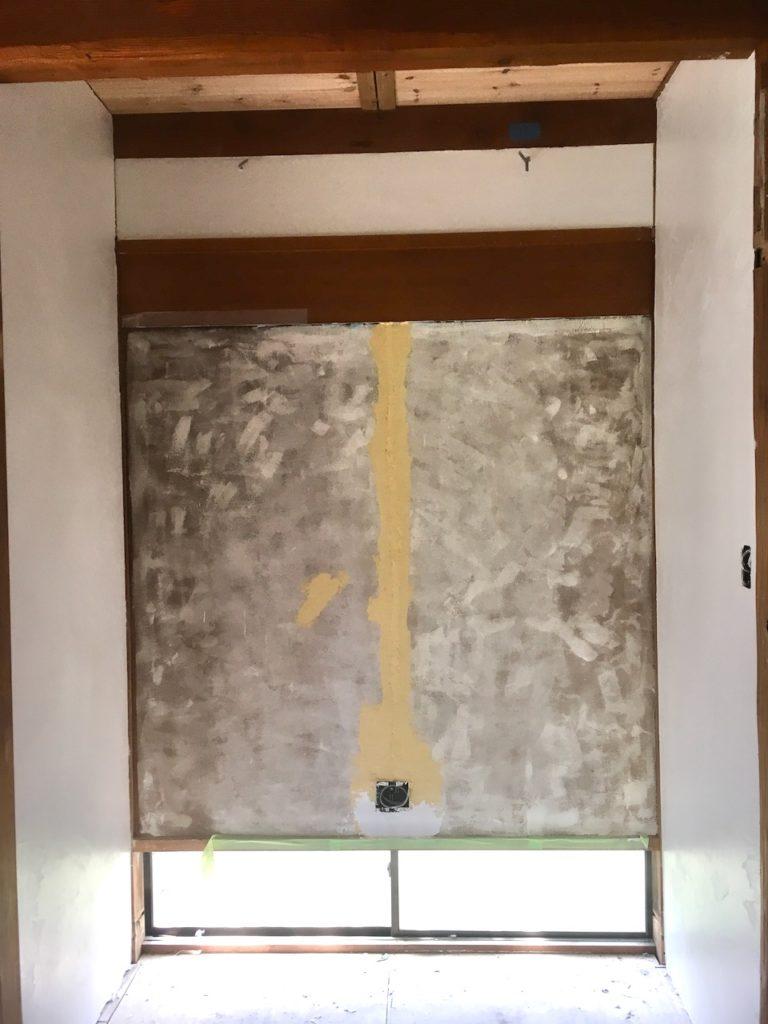 【DIY】和室の砂壁をモダンなデザインに作り変えます。