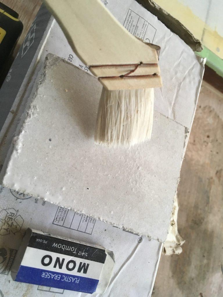 【検証】ケイカル板にモルタルでタイルを接着できるのか?