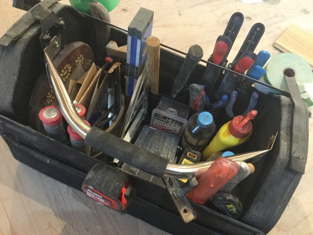 ツールキャリーはDIYで散らかりがちな細かい工具を整理整頓するのにおすすめです。