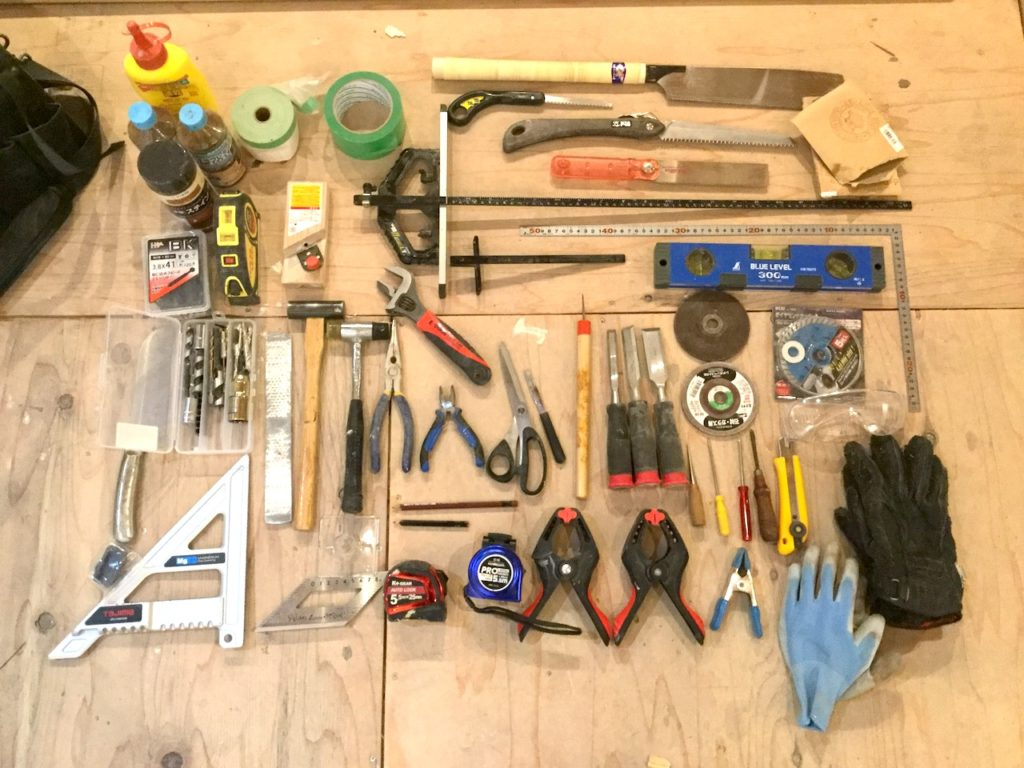 【整理整頓】ツールキャリーで工具をすっきり収納