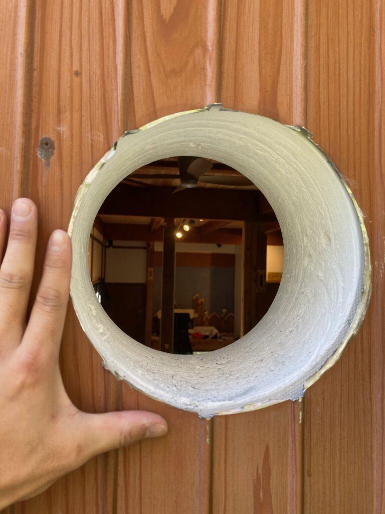 薪ストーブのDIY煙突工事の方法